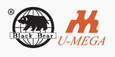 Black Bear and U-Mega Logo